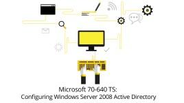 Microsoft70-640TSConfiguringWindowsServer2008ActiveDirectory